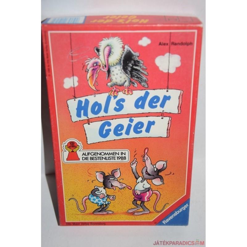 Hol's der Geier Keselyű kaland társasjáték