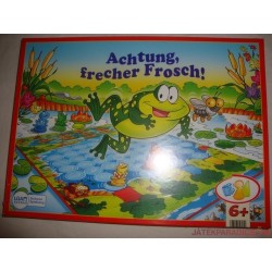 Achtung, frecher Frosch! Vigyázz, csintalan béka! társasjáték