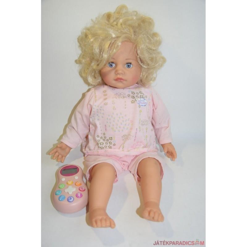 My Little Sunchine interaktív távirányítós szőke hajú baba
