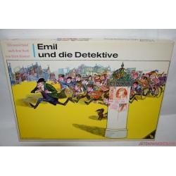 Vintage Emil és a detektívek társasjáték