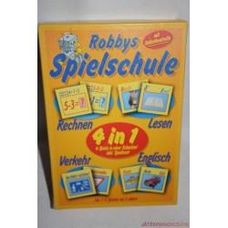 Robbys Spielschule Számolós és olvasás párosító társasjáték