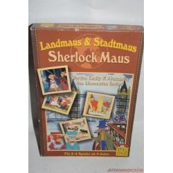 Landmaus & Stadtmaus Sherlock egér társasjáték