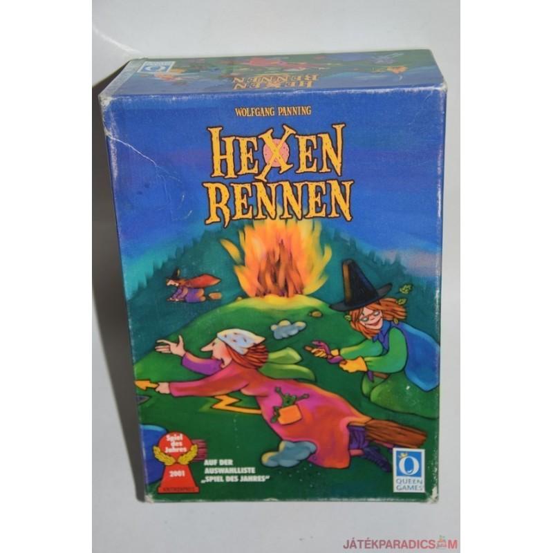 Hexen Rennen Boszorkányfutam társasjáték