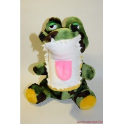 Krokodil plüss báb