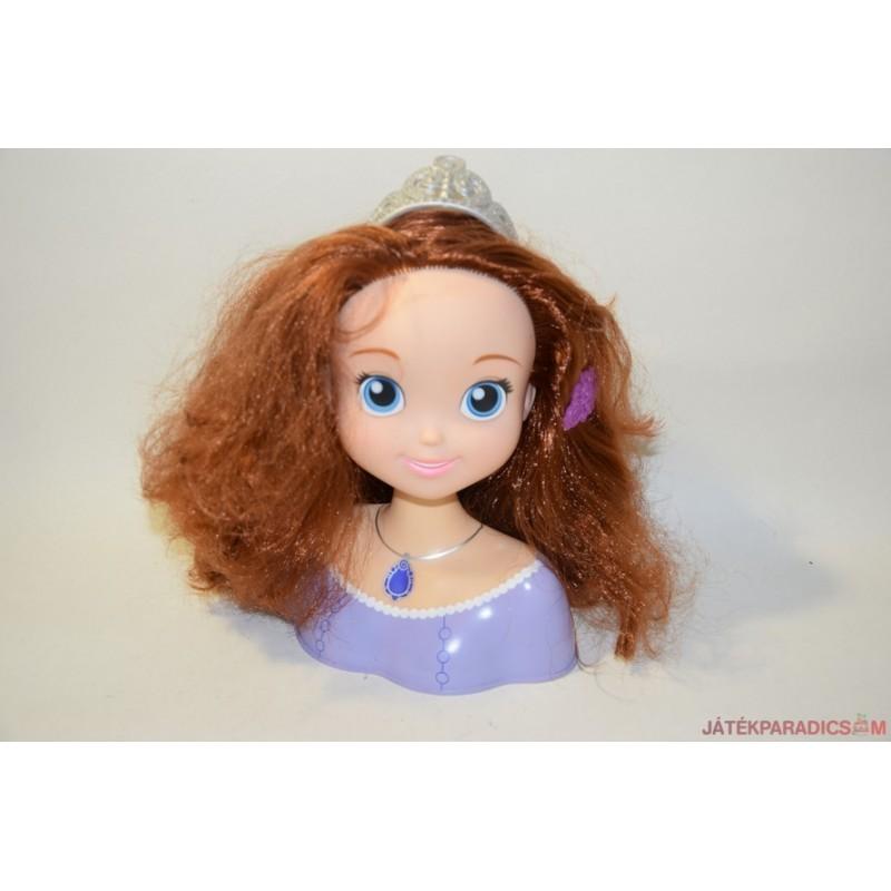 Sophia hercegnő hajas babafej