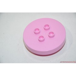Lego Duplo rózsaszín körasztal