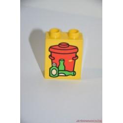Lego Duplo szemetesvödör képes elem