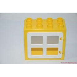 Lego Duplo sárga ablak elem