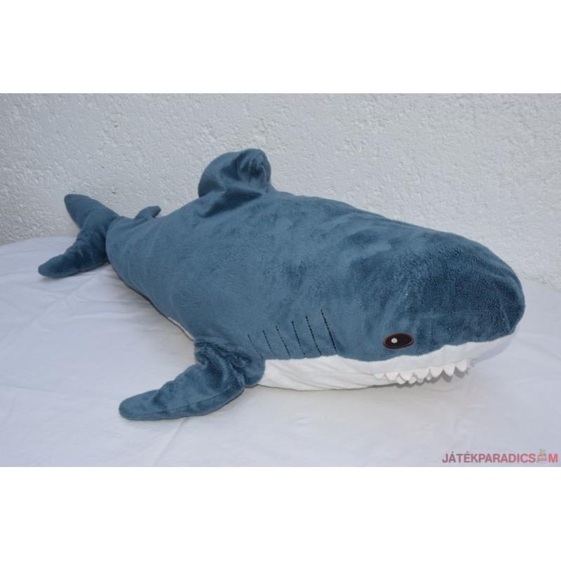 Akciós Hatalmas IKEA  plüss kék cápa