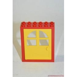 Lego kis piros ajtó elem