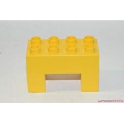 Lego Duplo U alakú sárga elem