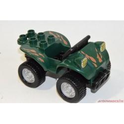 Lego Duplo zöld terepmintás Quad