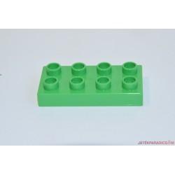 Lego Duplo lapos lapos világoszöld elem