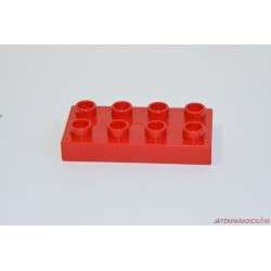 Lego Duplo kis piros lapos elem