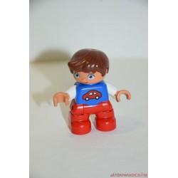 Lego Duplo barna hajú kisfiú
