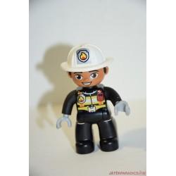 Lego Duplo fekete tűzoltó
