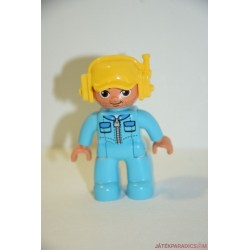 Lego Duplo kék ruhás pilóta