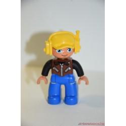 Lego Duplo barna inges pilóta