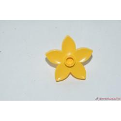 Lego Duplo sárga virág