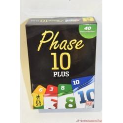 Phase 10 Plus kártya társasjáték