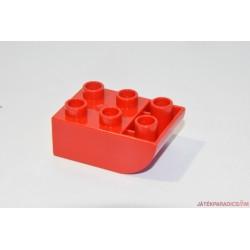 Lego Duplo piros domború elem