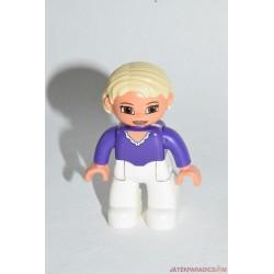 Lego Duplo szőke hajú nő
