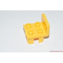 Lego Duplo sárga szék elem