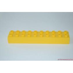 Lego Duplo 10-es sárga hosszú elem