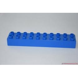 Lego Duplo kék 10-es hosszú elem