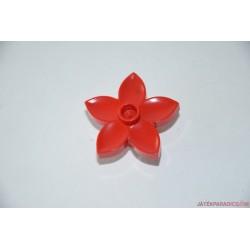 Lego Duplo piros virág