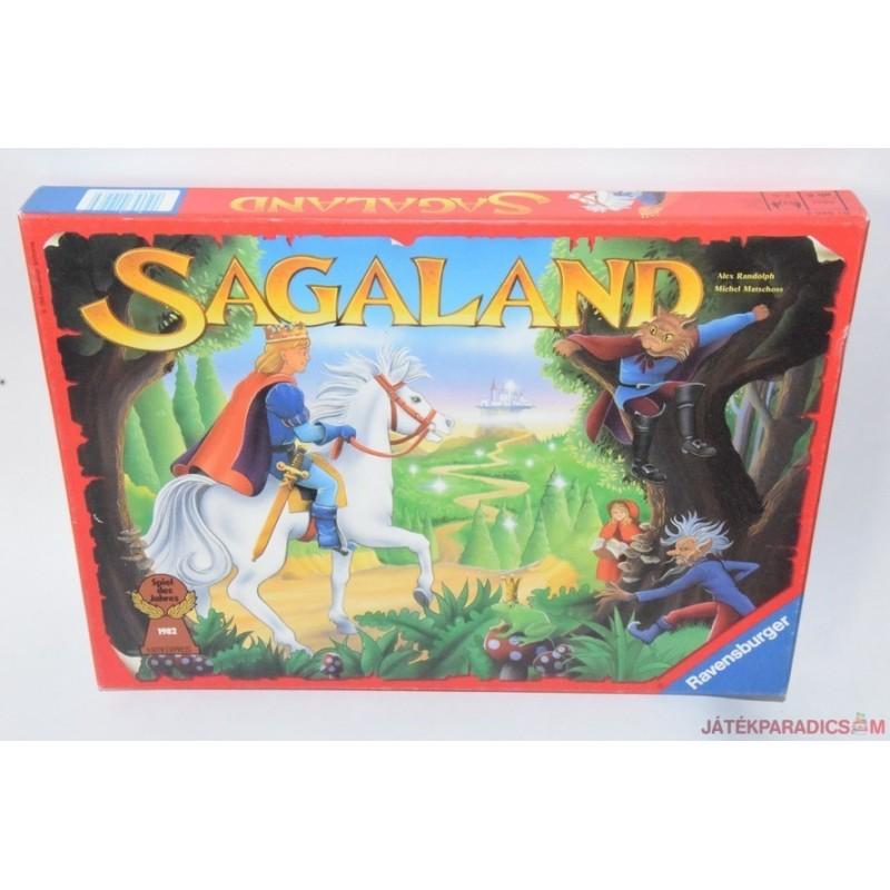 Sagaland Fantázialand társasjáték
