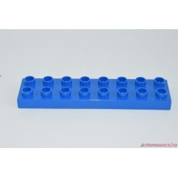 Lego Duplo 8-as lapos kék hosszú elem