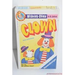 Clown/ Kinek nő nagyobbra a bohóca? társasjáték