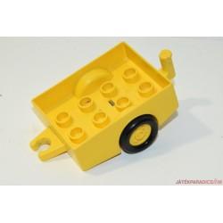 Lego duplo kis sárga utánfutó