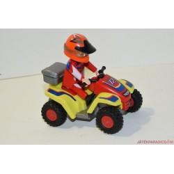 Playmobil quad versenyző