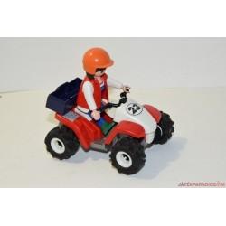 Playmobil quad versenyző C/11