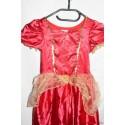 Belle hercegnő farsangi jelmez 5-7 évesnek B/37
