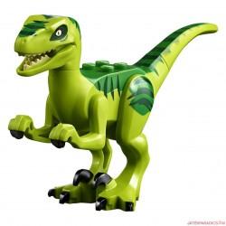 Lego Jurassic Park raptor dinosaurus Új!