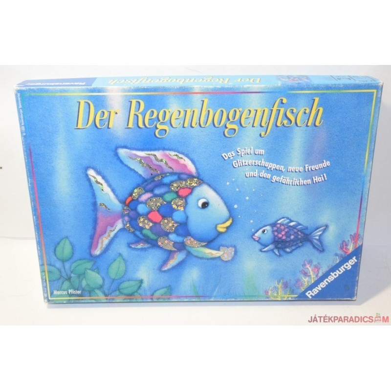 Der Regenbogenfisch – A szivárványhal társasjáték