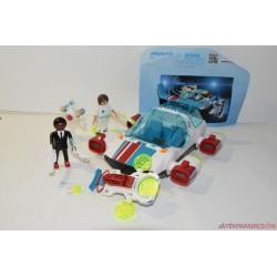 Playmobil 9002 Fulguri X és Gene ügynök