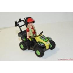 Playmobil quadozó állatgondozó D/10
