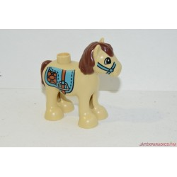 Drapp dísztakarós Lego Duplo lovacska