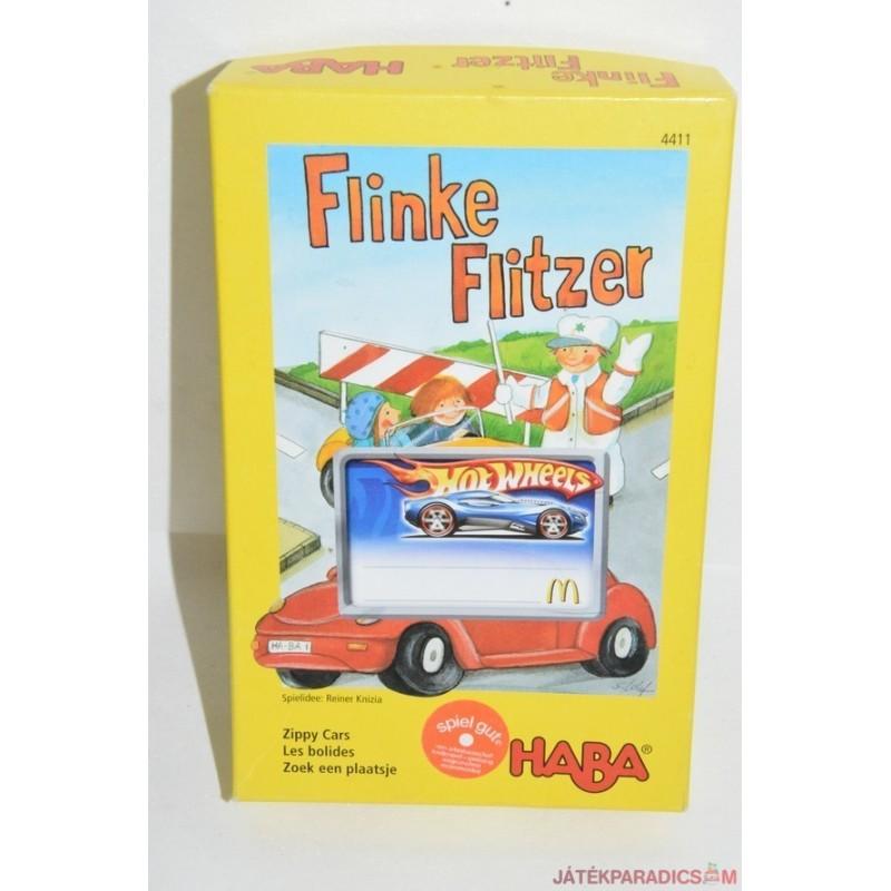 4411 Haba Flinke Flitzer Fürge autók társasjáték