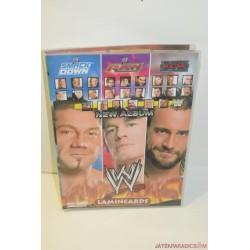 WWE JAKKS Pankrátor kártyagyűjtemény