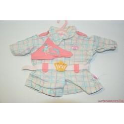 Baby Annabell kockás kabát