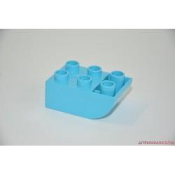 Lego Duplo világoskék domború elem