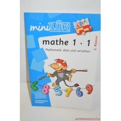 Mini Lük készségfejlesztő füzet 1 x 1 matematika Iskola-előkészítő