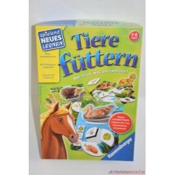 Tiere füttern - Állatetetés társasjáték, újabb verzió