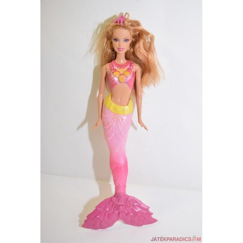 Ariel sellő barbie baba