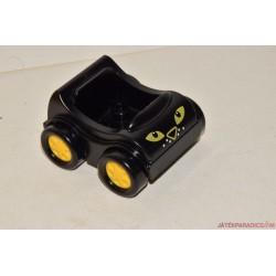 Lego Duplo fekete kis autó ( cicás orrú )